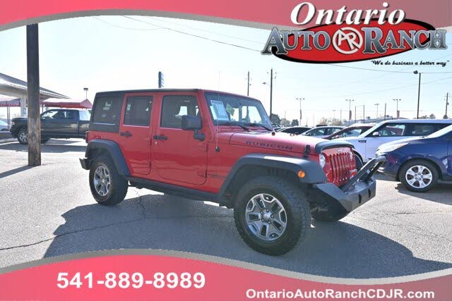 Used 2017 Jeep Wrangler Unlimited Rubicon 4wd For Sale Right Now Cargurus
