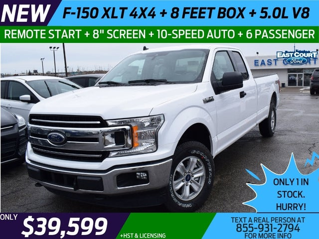 2020 Ford F-150 XLT SuperCab LB 4WD