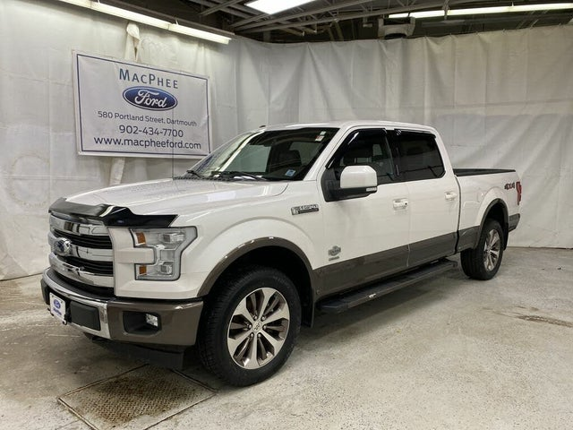 2017 Ford F-150 King Ranch SuperCrew LB 4WD