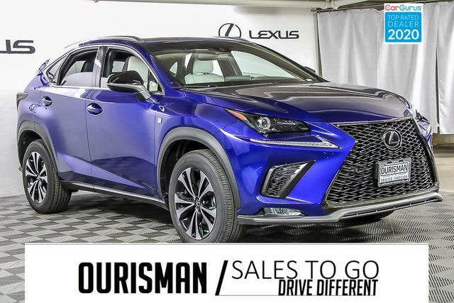 used 2021 lexus nx 300 f sport awd for sale right now