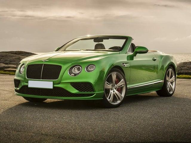 2017 Bentley Continental GTC Speed AWD