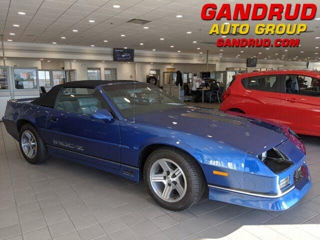 1989 Chevrolet Camaro IROC-Z Convertible RWD