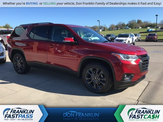 2018 Chevrolet Traverse RS FWD