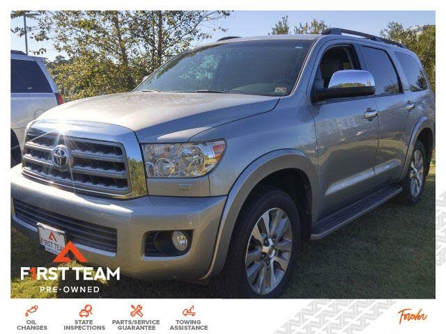 2017 Toyota Sequoia Limited FFV 4WD
