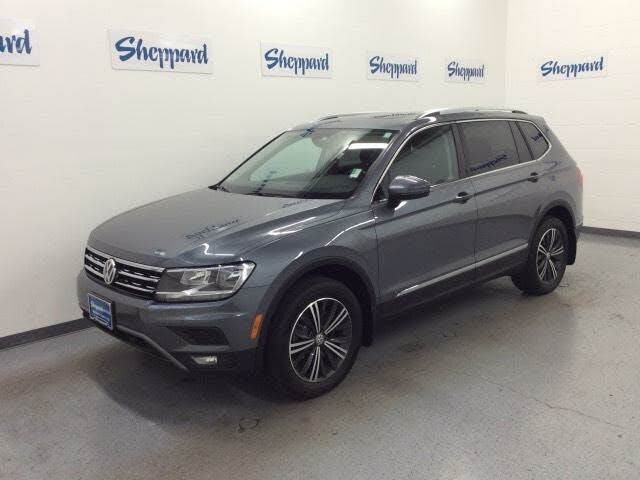 2019 Volkswagen Tiguan SEL 4Motion AWD