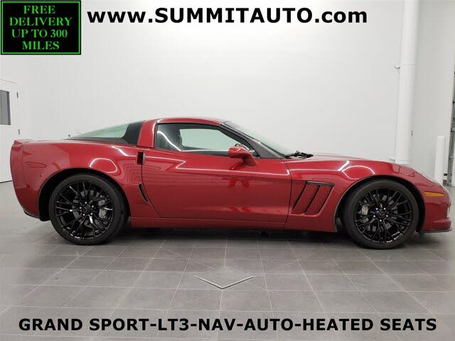 2011 Chevrolet Corvette Z16 Grand Sport 3LT Coupe RWD