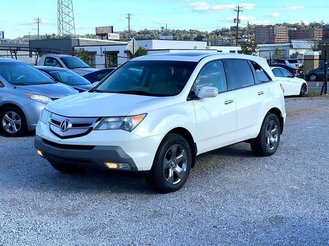 2009 Acura MDX SH-AWD with Sport and Entertainment Package