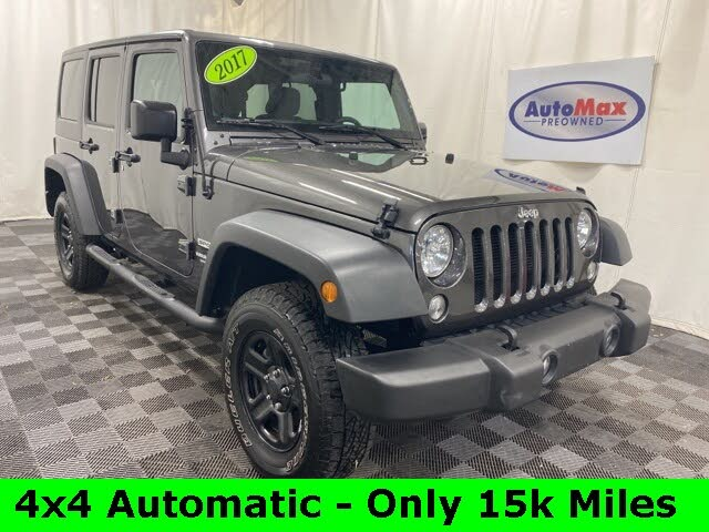 2018 Jeep Wrangler Unlimited For Sale In Manchester Nh Cargurus