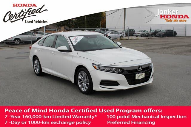 2018 Honda Accord 1.5T LX FWD