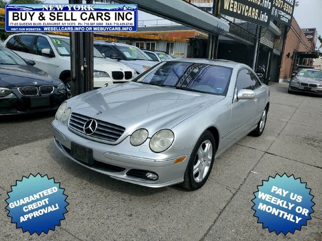 2005 Mercedes-Benz CL-Class CL 500 Coupe
