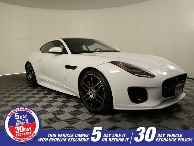 2020 Jaguar F-TYPE Checkered Flag Limited Edition Coupe AWD