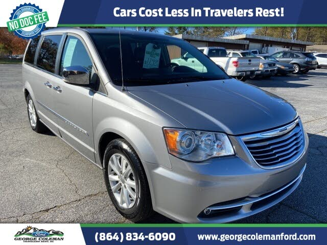 2015 Chrysler Town & Country Limited Platinum FWD