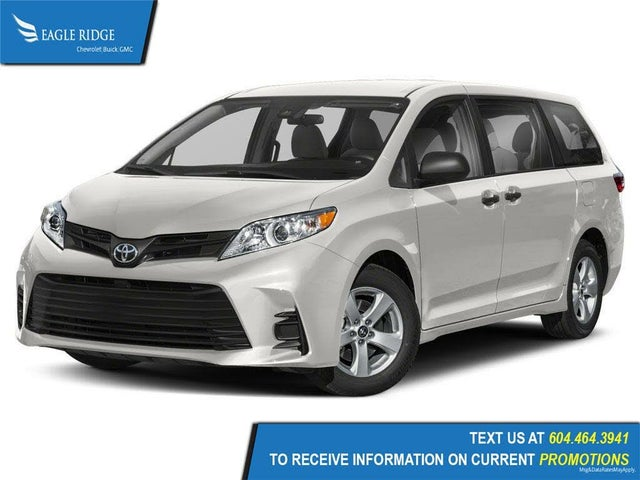 2019 Toyota Sienna LE 8-Passenger FWD