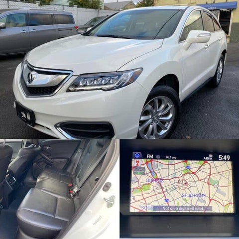 2018 Acura RDX AWD with Technology and AcuraWatch Plus Package