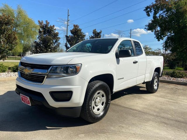 2017 Chevrolet Colorado Work Truck Extended Cab LB RWD