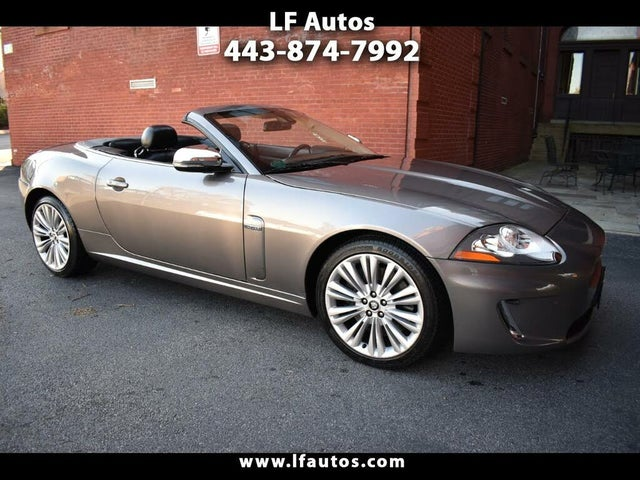 2010 Jaguar XK-Series XK Convertible RWD