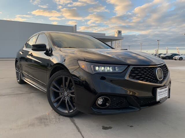 2018 Acura TLX V6 SH-AWD with Technology and A-Spec Package