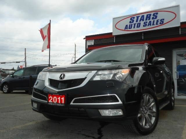 2011 Acura MDX SH-AWD with Elite Package