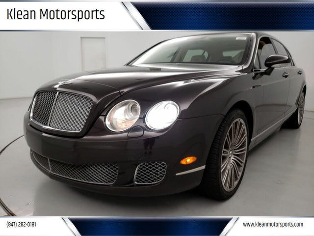 2009 Bentley Continental Flying Spur Speed AWD
