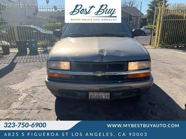 2000 Chevrolet S-10 LS Extended Cab RWD