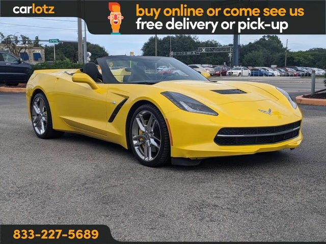 2014 Chevrolet Corvette Stingray Z51 2LT Convertible RWD