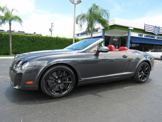 2011 Bentley Continental Supersports Convertible AWD