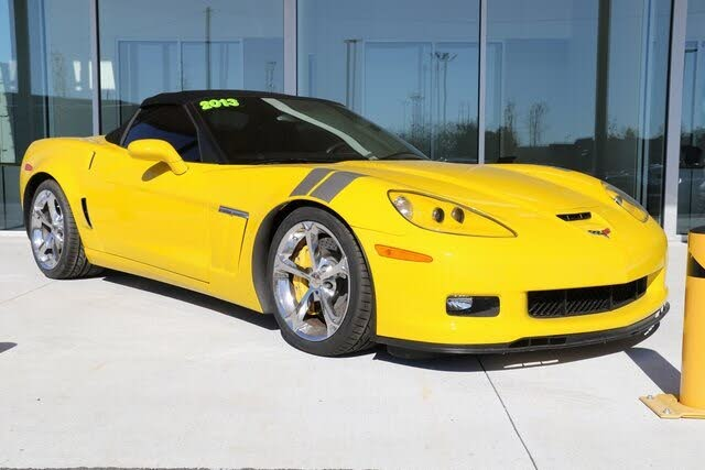 2013 Chevrolet Corvette Z16 Grand Sport 4LT Convertible RWD