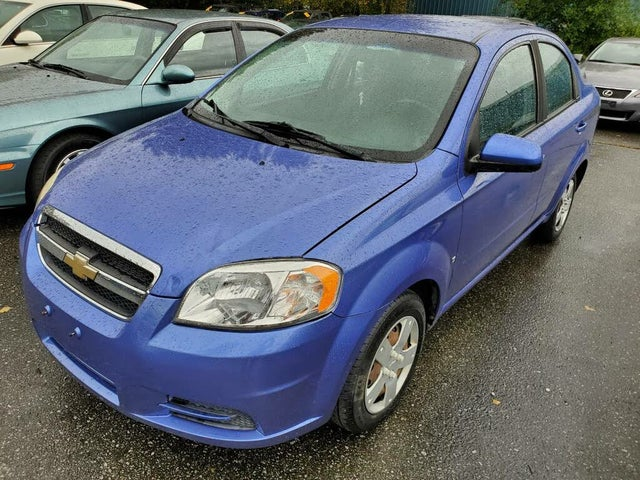 2009 Chevrolet Aveo LS Sedan FWD