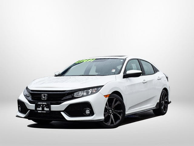 2018 Honda Civic Hatchback Sport FWD with Honda Sensing