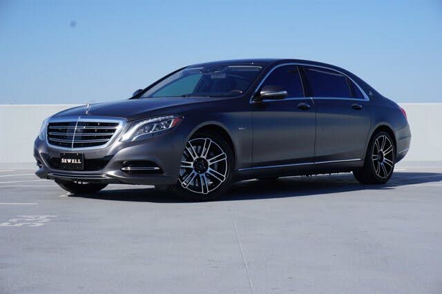 2016 Mercedes-Benz S-Class Maybach S 600