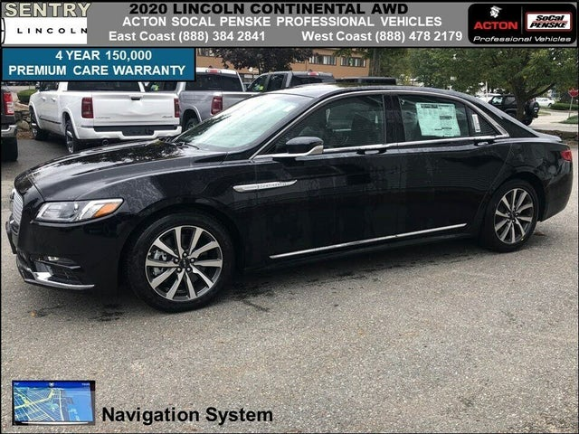 2020 Lincoln Continental Livery AWD