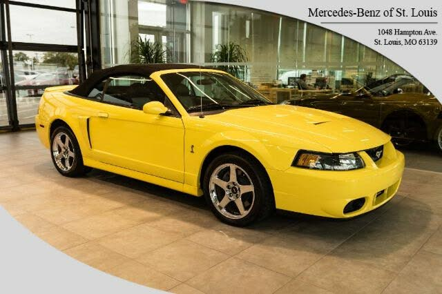 2003 Ford Mustang SVT Cobra Supercharged Convertible