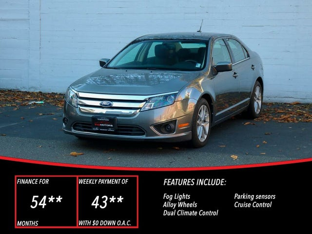 2010 Ford Fusion SEL V6 AWD
