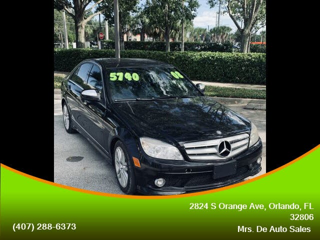 2008 Mercedes-Benz C-Class C 300 Luxury 4MATIC