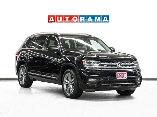 2018 Volkswagen Atlas 3.6L Execline 4Motion with R-Line