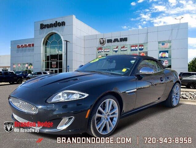 2013 Jaguar XK-Series XKR Convertible RWD