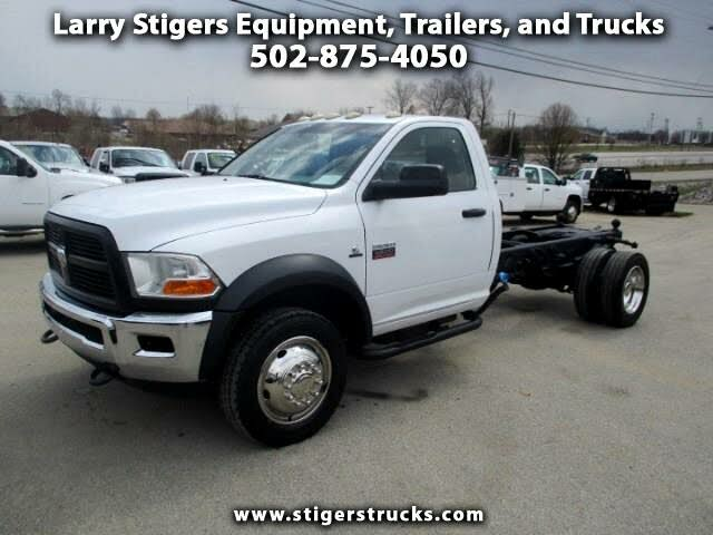 2012 RAM 5500 Chassis 4WD