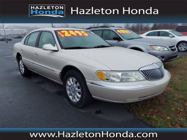 2002 Lincoln Continental FWD