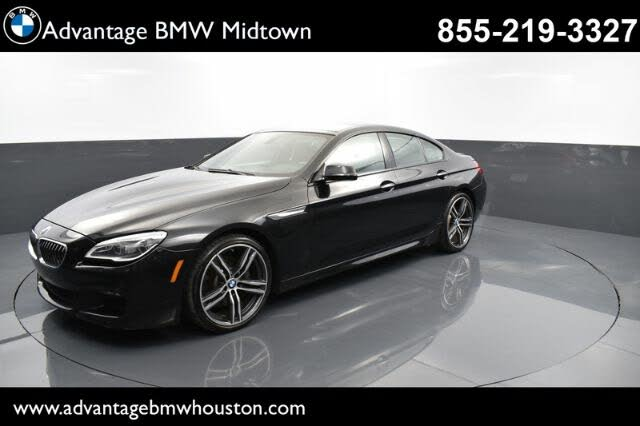 2018 BMW 6 Series 640i Gran Coupe RWD