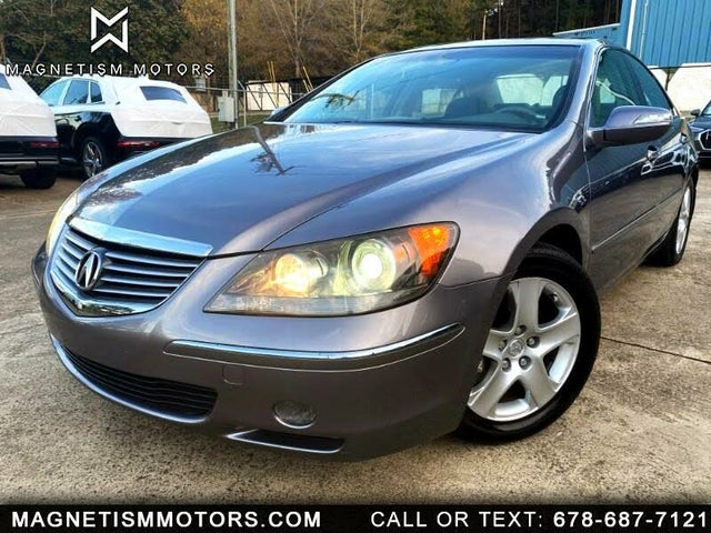 2007 Acura RL SH-AWD with CMBS and PAX Tires