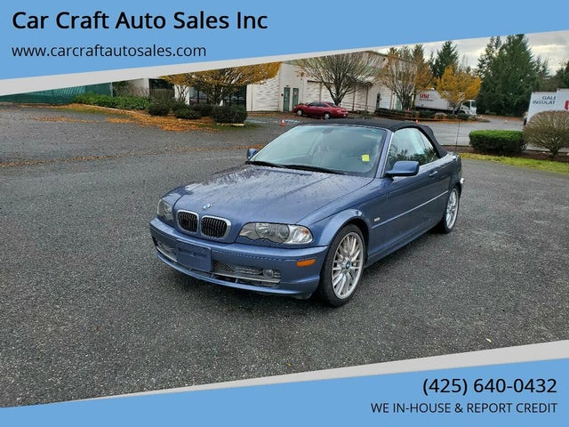 2003 BMW 3 Series 330Ci Convertible RWD