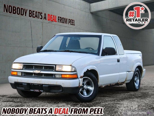 1999 Chevrolet S-10 LS Extended Cab RWD