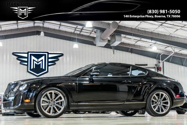2011 Bentley Continental Supersports Coupe AWD