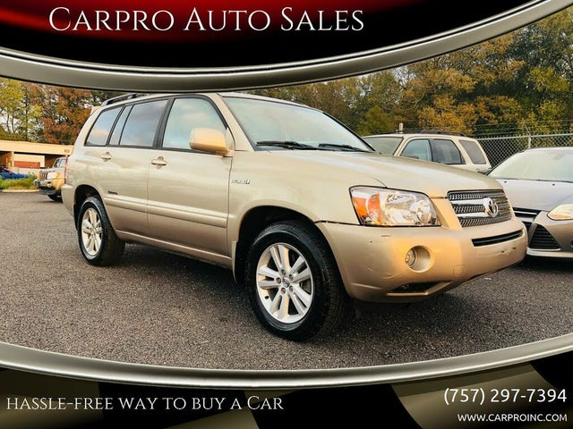 2007 Toyota Highlander Hybrid Limited with 3rd Row AWD