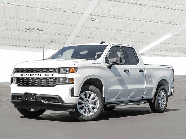 2019 Chevrolet Silverado 1500 Custom Double Cab 4WD