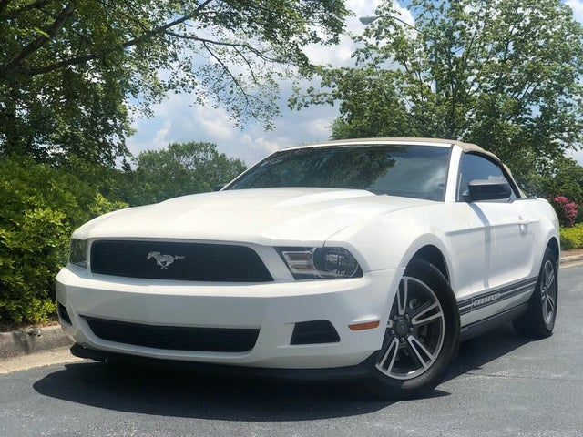 Used 2011 Ford Mustang V6 Convertible RWD for Sale Right Now - CarGurus