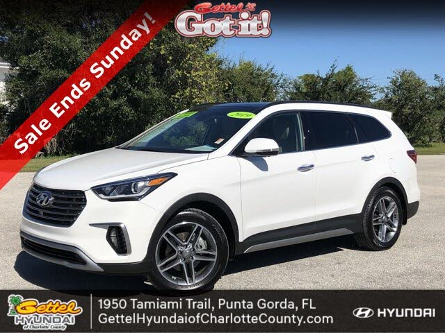 2019 Hyundai Santa Fe XL Limited Ultimate FWD