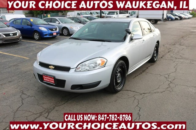 2016 Chevrolet Impala Limited Police FWD