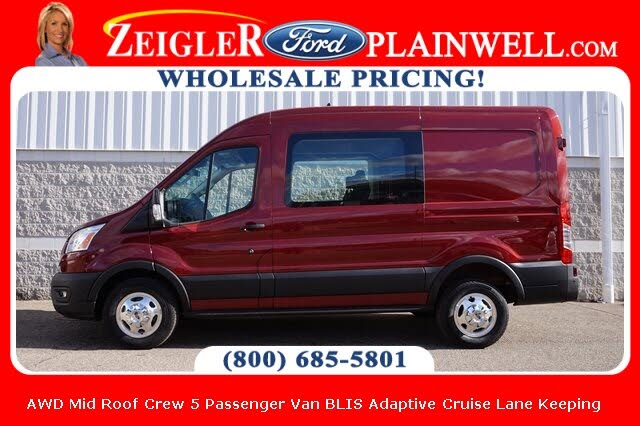 2020 Ford Transit Crew 150 AWD with Sliding Passenger-Side Door
