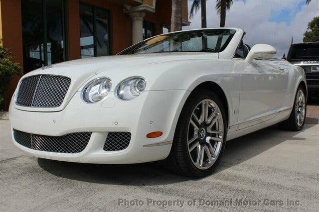 2011 Bentley Continental GTC W12 AWD